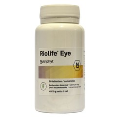 Nutriphyt Riolife eye (90 tabletten)