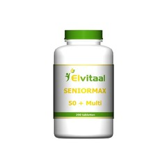 Elvitaal Seniormax 50+ multi (200 tabletten)