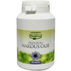 Menatura Premium nardus olie (180 capsules)