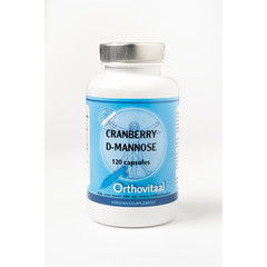 Orthovitaal Cranberry + d-mannose (120 capsules)