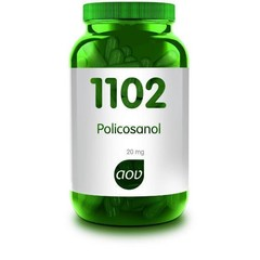 AOV 1102 Policosanol 20 mg (60 capsules)