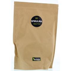Hanoju Bio spirulina 400 mg paper bag (2500 stuks)
