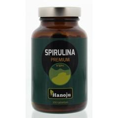 Hanoju Spirulina 400 mg premium (300 tabletten)