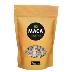 Hanoju Bio maca premium 500 mg paper bag (1000 tabletten)