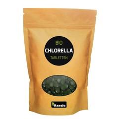 Hanoju Bio chlorella 400 mg papier zak (2500 stuks)