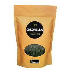 Hanoju Bio chlorella 400 mg papier zak (1250 stuks)