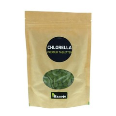 Hanoju Chlorella premium 400 mg paper bag (625 tabletten)