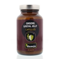 Hanoju Royal jelly ginseng 500 mg (90 vcaps)
