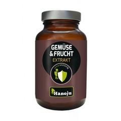 Hanoju Groente en fruit extract 400 mg (90 vcaps)