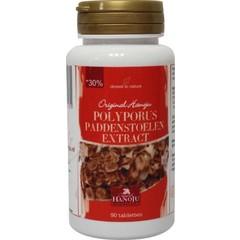 Hanoju Polyporus paddenstoel extract 350 mg (90 tabletten)