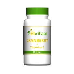 Elvitaal Cranberry + 60 mg vitamine c (60 vcaps)
