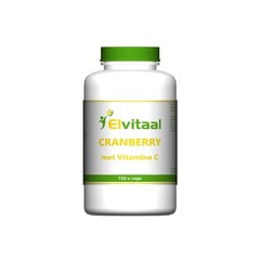 Elvitaal Cranberry + 60 mg vitamine c (150 vcaps)