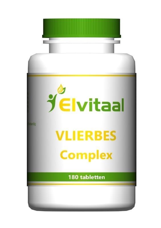 Elvitaal Vlierbes complex (180 tabletten)