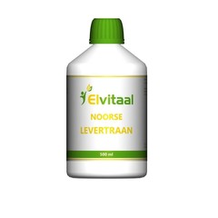 Elvitaal Levertraan (500 ml)