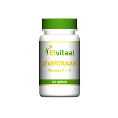 Elvitaal Levertraan A D3 (100 capsules)