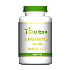Elvitaal Lijnzaadolie omega 369 (100 capsules)