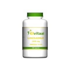 Elvitaal Lijnzaadolie omega 369 (200 capsules)