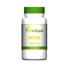 Elvitaal MSM 1000 mg (120 tabletten)