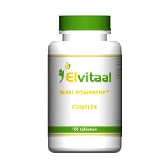 Elvitaal Sabal pompoenpit complex (100 tabletten)