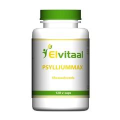Elvitaal Psylliummax vlozaadvezels (120 vcaps)