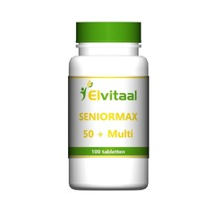 Elvitaal Seniormax 50+ multi (100 tabletten)