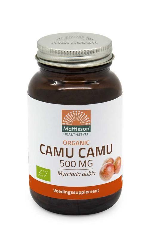 Mattisson Mattisson Biologische camu camu 500 mg (60 vcaps)