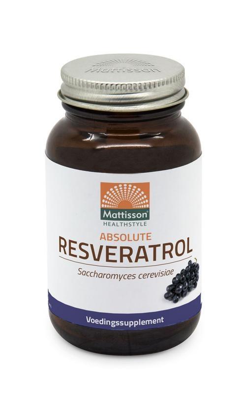 Mattisson Mattisson Absolute Resveratrol 98% gefermenteerd veri-te (60 vcaps)