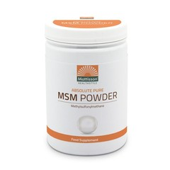 Mattisson Absolute MSM poeder pure (450 gram)