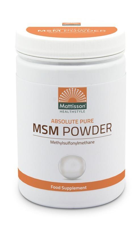 Mattisson Mattisson Absolute MSM poeder pure (450 gram)