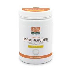 Mattisson Absolute MSM poeder vanille (454 gram)