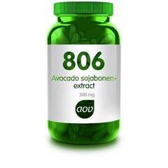 AOV 806 Avocado sojabonen extract (60 capsules)