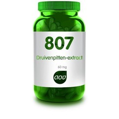 AOV 807 Druivenpitten-extract (60 capsules)