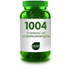 AOV 1004 Cranberry & probioticum complex (60 capsules)