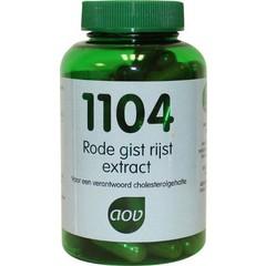 AOV 1104 Rode gist rijst extra (90 capsules)