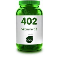 AOV 402 Vitamine D3 25 mcg (60 capsules)