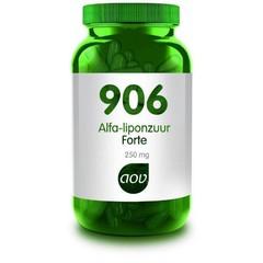 AOV 906 Alfa-Liponzuur forte (60 capsules)