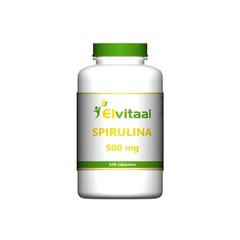 Elvitaal Spirulina 500 mg (500 tabletten)