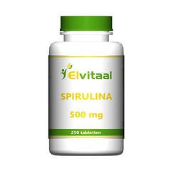 Elvitaal Spirulina 500 mg (250 tabletten)