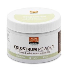 Mattisson Colostrum powder poeder 30% IgG (125 gram)