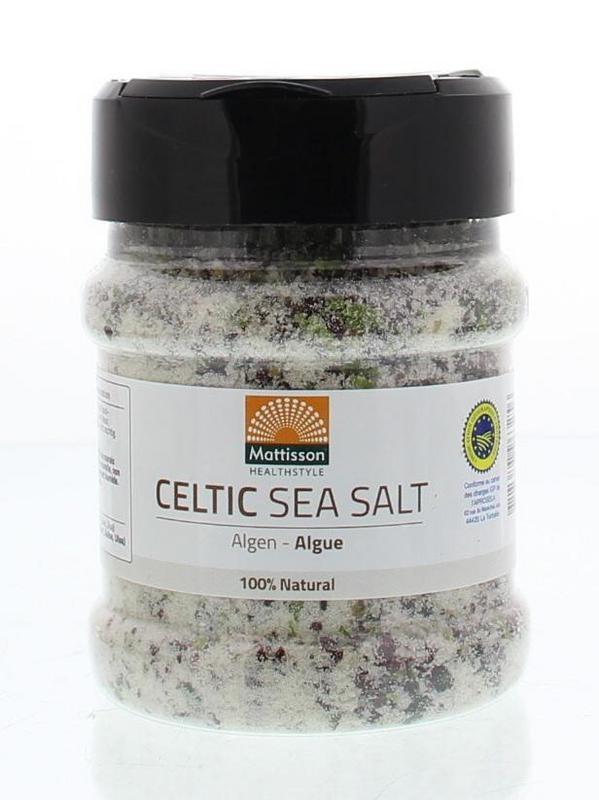 Mattisson Mattisson Keltisch zeezout celtic sea salt algen (200 gram)