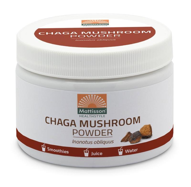 Mattisson Mattisson Absolute chaga mushroom poeder (100 gram)