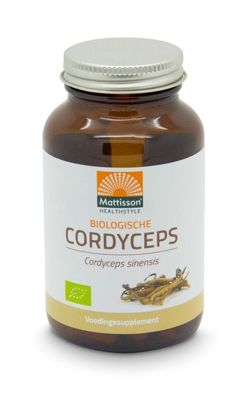 Mattisson Mattisson Cordyceps 525 mg - cordyceps sinensis biologisch (60 vcaps)