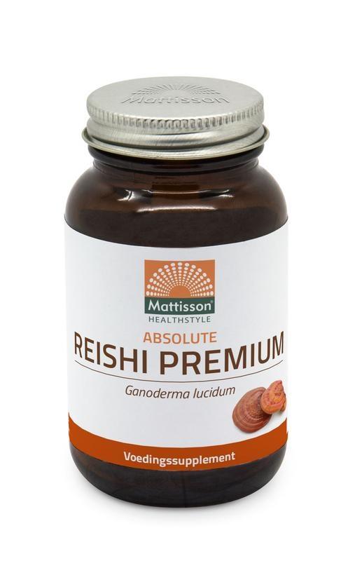 Mattisson Mattisson Absolute reishi premium 400 mg (60 vcaps)