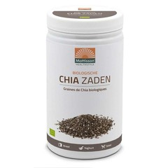 Mattisson Absolute chia zaad raw bio (1 kilogram)