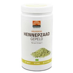Mattisson Absolute hemp seeds hulled hennepzaad gepeld (1 kilogram)
