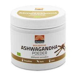 Mattisson Bio ashwagandha poeder withania somnifera (200 gram)
