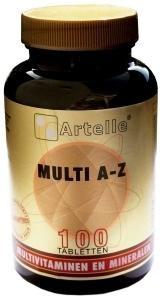 Artelle Multivitamine A/Z (100 tabletten)