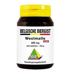 SNP Belgische biergist 400 mg puur (450 tabletten)