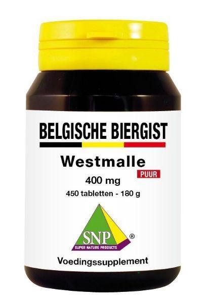 SNP SNP Belgische biergist 400 mg puur (450 tabletten)