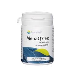 Springfield MenaQ7-360 vitamine K2 360 mcg (30 vcaps)